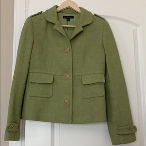 Green Wool Pea Coat from Banana Republic Size M